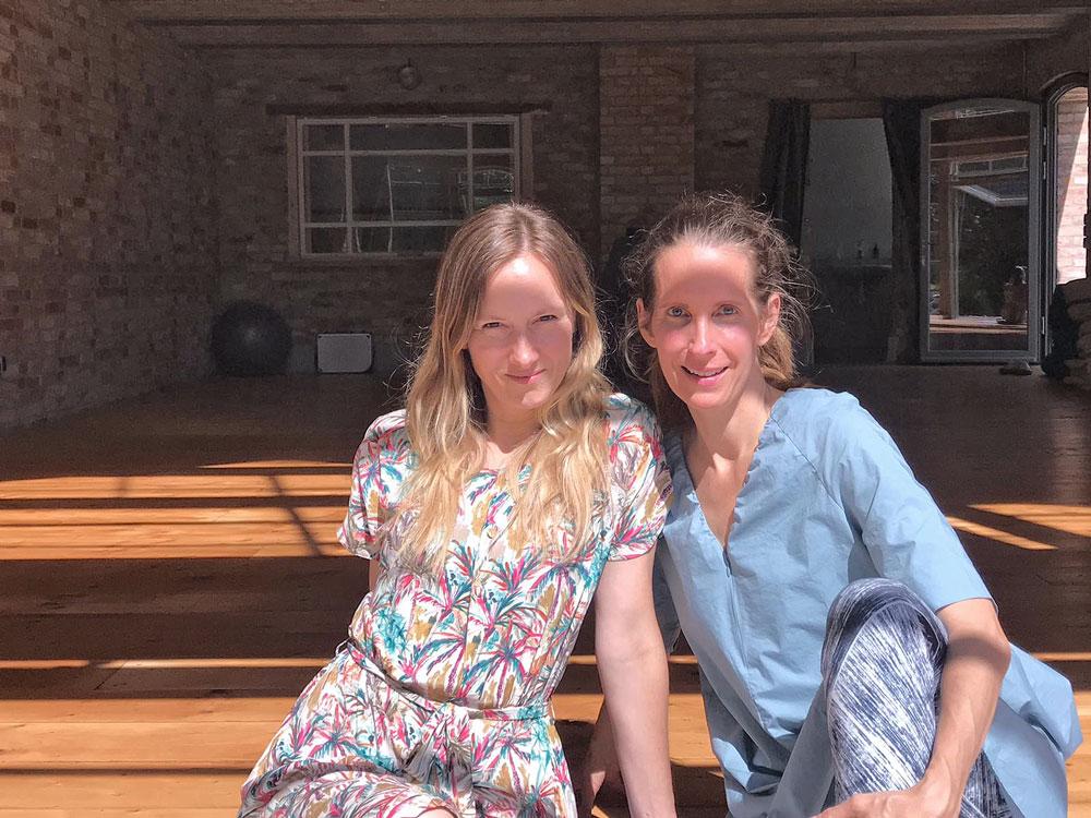 Daniela Bläsing und Andrea Mende